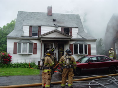 Portsmouth House Fire - Why Buy Insurance
